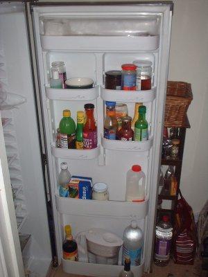 how to change fridge door