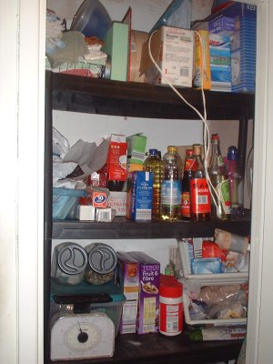 Top half of the Pantry