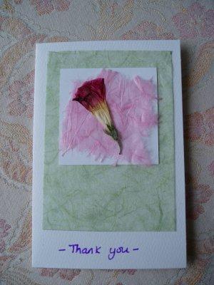 Thankyou card 2