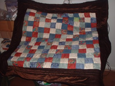 the award-winning quilt