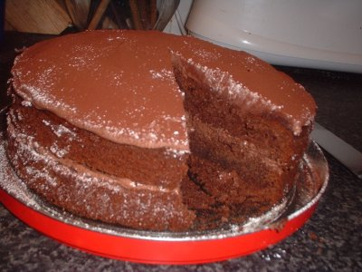 cappuncino cake